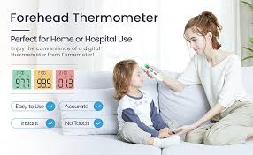 Touchless Forehead Thermometer for Adults, Kids ... - Amazon.com
