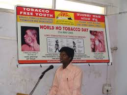 worldnotobaccoday talkandwalkagainsttobacco conduct of essay writing and elocution competitions for college students at s b patil dental hospital bidar