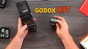 Передатчик <b>Godox X1T</b>: видео-инструкция к синхронизаторам ...