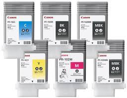 <b>Картридж Canon PFI</b>-<b>102</b> комплект (MBKx2,<b>BK</b>,M,C,Y) 6шт х ...