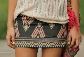 Resultado de imagen de faldas tribales