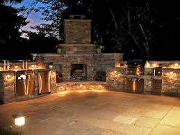 gallery outdoor kitchen lighting:  outdoor kitchen lighting in the central lighting concept from http homedecorremodeling