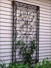 iron wall decor u love: garden wrought iron decor outdoor wall art for the garden decorative wrought iron