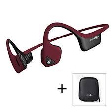 <b>AfterShokz Trekz Air</b> Open-Ear Wireless Bone Conduction: Amazon ...