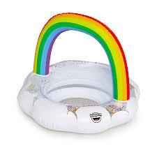 <b>Надувной круг BigMouth Rainbow</b> детский