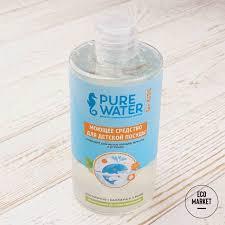 Моющее средство для мытья детской посуды <b>Pure</b> Water 450 мл ...