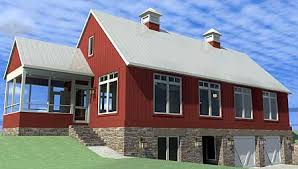 ideas about Barn Style House Plans on Pinterest   Barn Style       ideas about Barn Style House Plans on Pinterest   Barn Style Houses  Barn Homes and Pole Barns