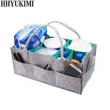<b>Felt cloth Storage Bag</b>,Foldable Baby Large Size Diaper Caddy ...