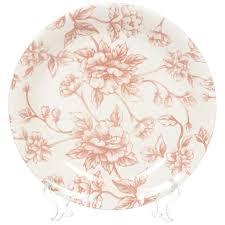 <b>Тарелка обеденная</b> керамическая, 250 мм, Country <b>Charm</b> ...