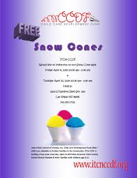 snow cones las vegas itcn child care development fund ccdf calendar >