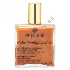 <b>Nuxe Мерцающее сухое масло</b> для лица, тела и волос ...