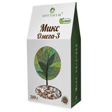 Стоит ли покупать Смесь семян Оргтиум <b>Микс Омега</b>-<b>3</b> 200 г ...