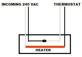 wiring 240 volt baseboard heater with wall mounted thermostat 240v Thermostat Wiring 240v Thermostat Wiring #49 wiring 240v thermostat