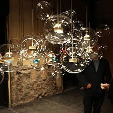 <b>Modern Pendant Lights</b> Glass <b>Bubble</b> LED Lamp Lovely Creative ...