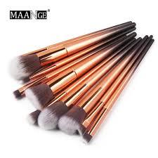 1PCS <b>Makeup Brushes</b> Tools Rose Gold Handle Very Soft Hair ...