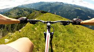 Image result for mountain biking sunset creative commons