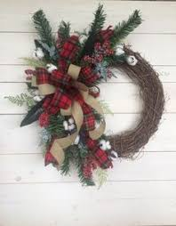 152 Best Buffalo Plaid Christmas images | Plaid christmas, Rustic ...