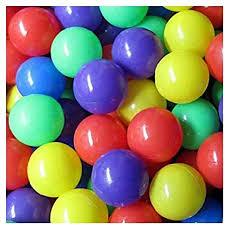 <b>100 Pcs</b> Colorful Soft <b>Plastic</b> Ocean Fun Ball Balls Baby Kids Tent ...