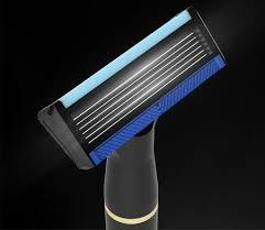 Handx <b>H600</b> Men`s Safety <b>Manual 6 Layer Razor Shaver</b> Black in ...
