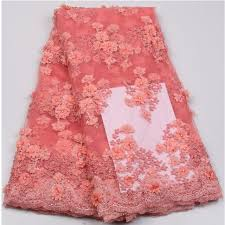 New Arrival Peach <b>African French Lace</b>, Wholesale <b>African Lace</b> ...