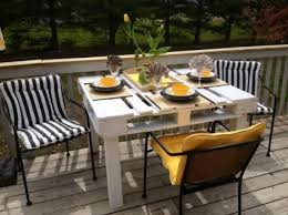 furniture awesome patio table woodworking plans with unfinished wood rectangle serving tray and black white stripe black and white outdoor furniture