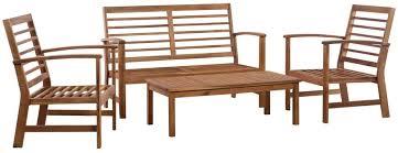 Festnight <b>4 Piece Garden Lounge</b> Set, Outdoor Garden Sofa Set ...