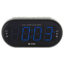 Радио-<b>часы VITEK VT-6610</b> SR купить в Москве, цена в интернет ...