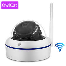 <b>OwlCat</b> Home Video Surveillance Wireless <b>Indoor Dome IP</b> Camera ...