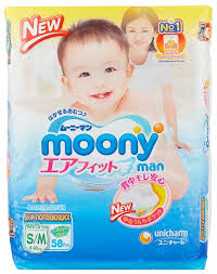 <b>Moony</b> трусики Man <b>S</b>/<b>M</b> (<b>5</b>-<b>10 кг</b>) 58 шт. — купить по выгодной ...