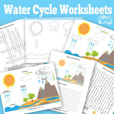 water cycle worksheet  amp  diagrams   itsy bitsy funwater cycle worksheets and diagrams