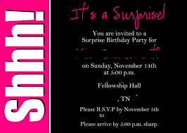 30 surprise birthday invitation templates ctsfashion com surprise th birthday party invitations templates wedding
