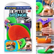 US!3 PCS <b>Kitchen Home Silicone</b> Dish <b>Washing SiliconeSponge</b> ...