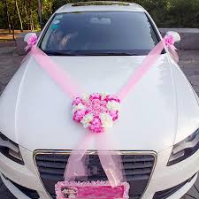 <b>Wedding Car</b> Decor <b>Set</b> Romantic Heart Rose <b>Kit</b> Artificial <b>Flowers</b> w ...