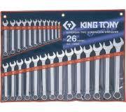 <b>Набор ключей комбинированных</b> KING TONY 1226MR 26 ...