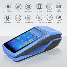 Milestone POS <b>Portable</b> Thermal Receipt Printer <b>WIFI</b> bluetooth ...