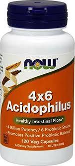 Пробиотики NOW <b>Acidophilus 4x6</b> Billion <b>60</b> caps