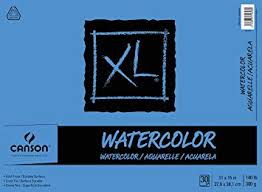 Canson XL Series Watercolor Textured Paper Pad for <b>Paint</b>, Pencil ...