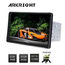 ARKRIGHT 10.1'' 2 Din Android car radio/Head Unit/HU/GPS ...