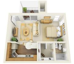 Modern One Bedroom Apartment Design One Bedroom Apartment Design Gooosencom