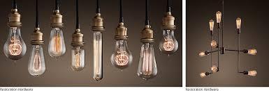lighting samples bare bulb lighting