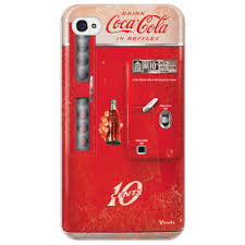 Чехол для iPhone 4/4S Coca-Cola <b>Vintage</b> vending machine ...