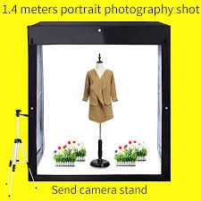 <b>120</b>*50*140CM <b>Dimmable Led</b> Light Softbox <b>Studio Photo</b> Box ...