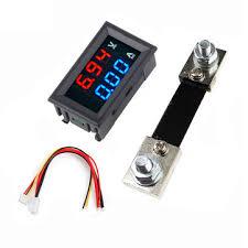 <b>3pcs 0.56 Inch</b> Blue Red Dual LED Display Mini Digital Voltmeter ...