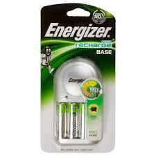 <b>Зарядное устройство Energizer</b> Base Charger, 4 аккумулятора AA ...