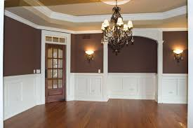 Two Tone Painting Delighful Dining Room Two Tone Paint Ideas Painting Cool Relaxing