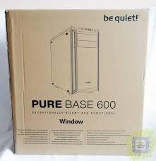 Обзор <b>корпуса be quiet</b>! <b>Pure</b> Base 600 Window Orange (BGW20)