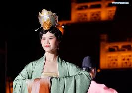 Cultural event displaying <b>ancient Chinese costume</b> designs held in ...