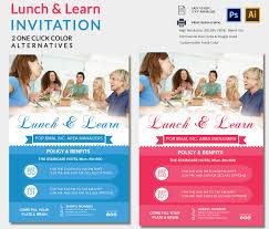 lunch invitation template 25 psd pdf documents easily editable lunch and learn invitation