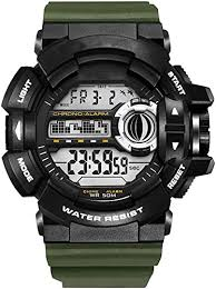 LED Digital Wrsitwatches S Shock Resistant Army ... - Amazon.com