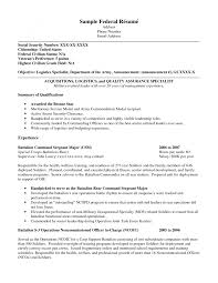federal resume cover letters template federal resume cover letters